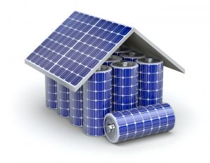 solar batteries are used in solar plus storage systems